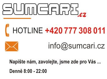 Kontaktujte nás, SUMCARI.cz rybářský e-shop