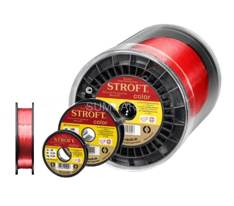 STROFT COLOR RED 0,28mm/1000m