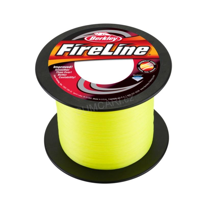 BERKLEY šňůra FireLine Flame green 0.12mm, 6.8kg, metráž