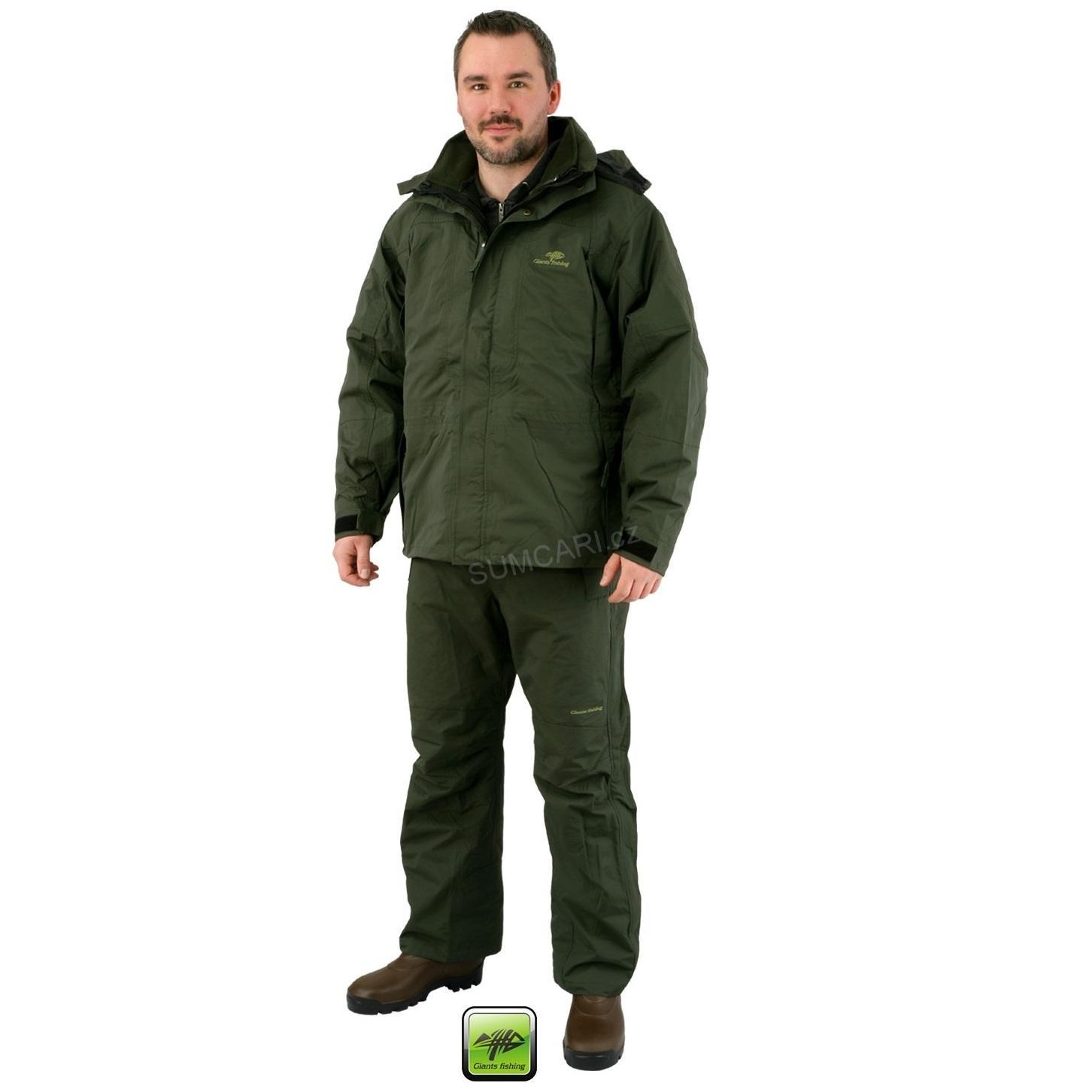 fd8e4a34654 Rybářské nepromokavé oblečení Giants Fishing Exclusive Suit velikost L