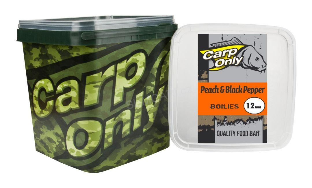 Carp Only boilies PEACH BLACK PEPPER 24mm 3kg