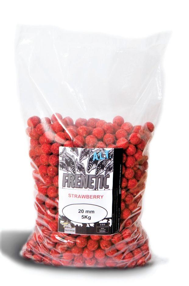 Carp Only Frenetic A.L.T. boilies Stawberry 24mm, 5kg