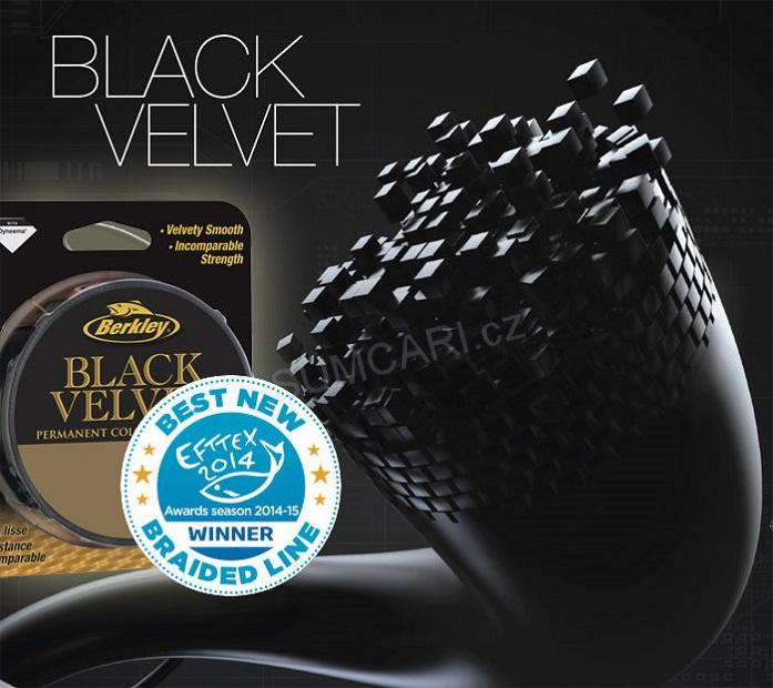 BERKLEY Black Velvet 0.16mm, 17.8kg, metráž