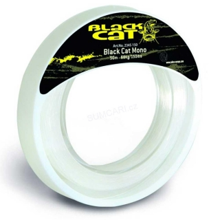 Black Cat Mono Leader 1.30mm 77kg, 50m