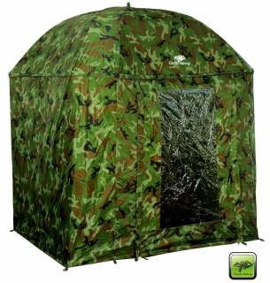 Giants Fishing deštník Full Cover Square Camo Umbrella 2,50m