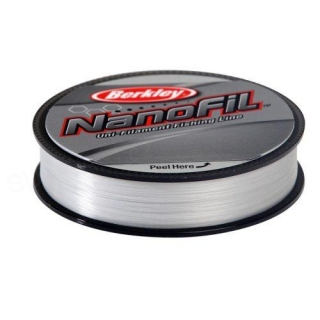 BERKLEY Nanofil 125m/0.12mm/6,934kg/čirý