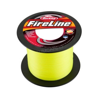 BERKLEY šňůra FireLine Flame green 0.25mm, 17.5kg, metráž