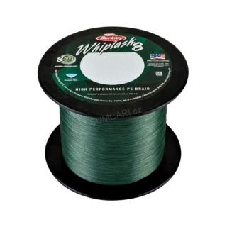 Berkley šňůra WHIPLASH 8 0.28mm 47.1kg, green