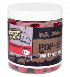 Carp Only BLOODWORM & LIVER POP UP 12mm 80g