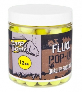 Carp Only FLUO POP UP boilie yellow 20mm 80g