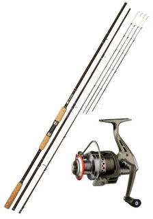 Giants Fishing prut LXR Feeder 11ft 3.30m 50-100g + naviják zdarma!