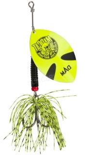 MADCAT třpytka Big Blade Spinners Fluo Yellow 55g