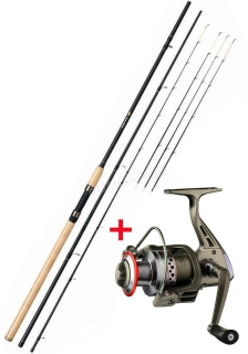 Giants fishing prut Fluent Feeder XT Medium 11ft 3.30m, 100g,+ naviják zdarma!