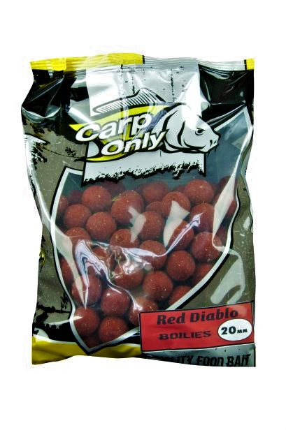 Carp Only boilies RED DIABLO 20mm 1,0kg