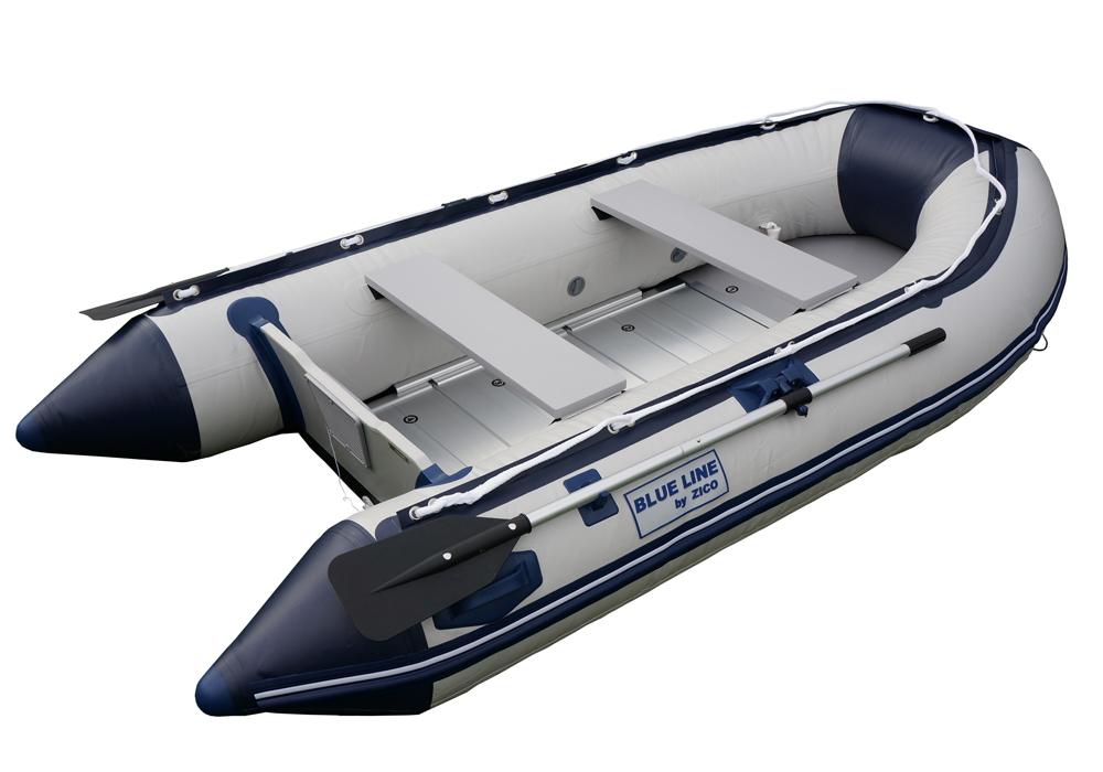 ZICO člun BL290,pevná záď,Alu podlaha,vesla,pumpa