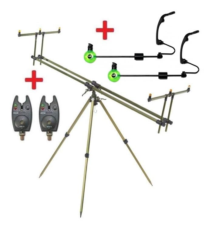 Zfish Tripod Select 3 Rods + 2x hlásič NGT VX1 + 2x Swinger ZDARMA!