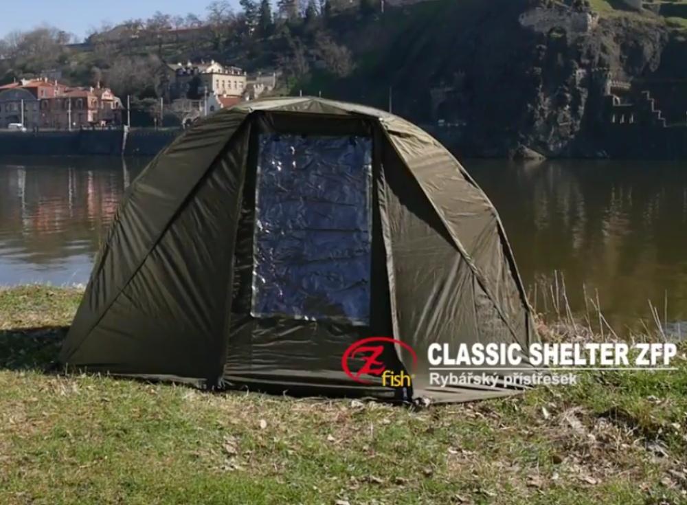 Zfish rybářský přístřešek Classic Shelter ZFP