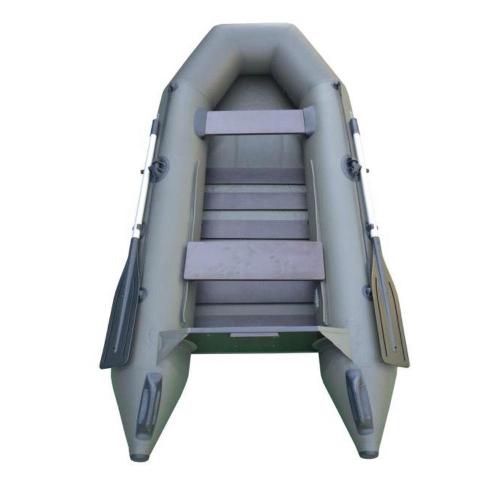 SPORTEX nafukovací člun SHELF 290 zelený, lamelová podlaha