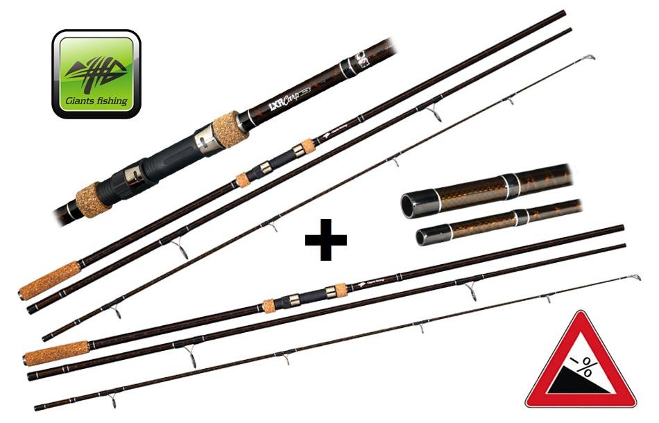 Giants fishing LXR Carp 12ft 3lb AKCE 1+1 ZDARMA! 3 díly