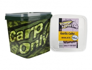 Carp Only boilies GARLIC CAKE 16mm 3kg